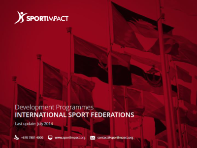 Guide to International Sport Federations Development Programmes