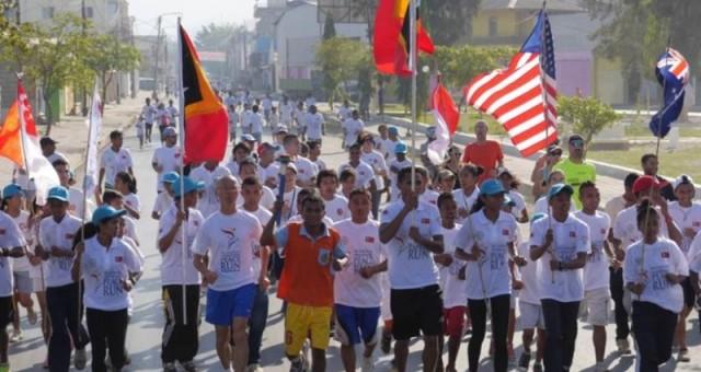 Peace Run in Timor-Leste