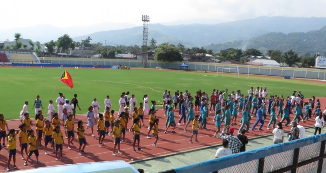 Press release – SportImpact gathers hundreds of kids in Dili to celebrate the  International Day of Sport for Peace and Development
