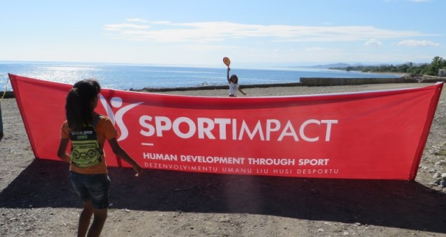 Press release – SportImpact event gathers hundreds of kids in Manatuto