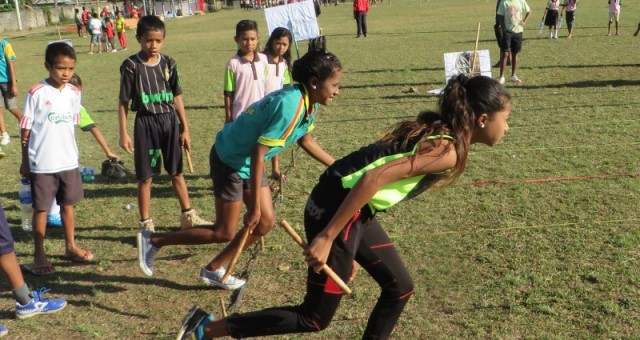 Press release – SportImpact event gathers over five hundred kids in Lospalos