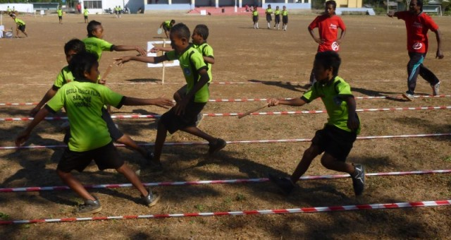 Press release – SportImpact event gathers hundreds of kids in Maliana