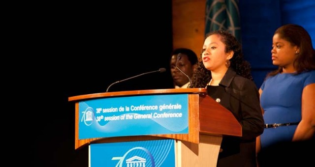 SportImpact Facilitator Nominated Representative of the Asian Youth to the UNESCO 38th General Conference