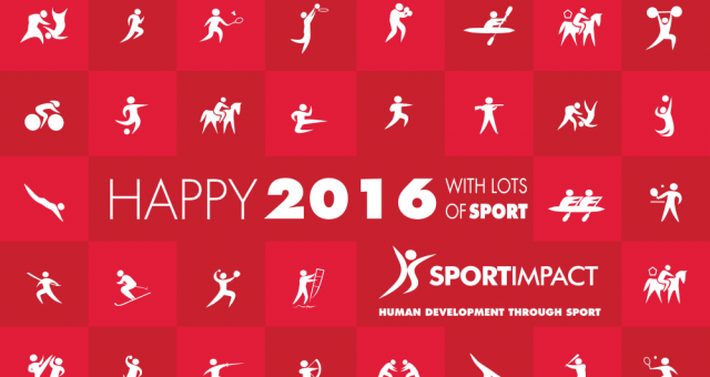 Happy 2016! Full of sport and development for everyone!