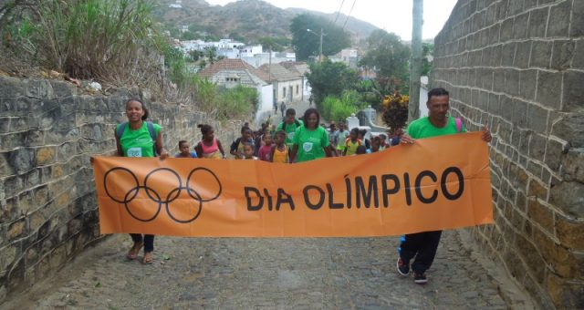 Celebration of Olympic Day