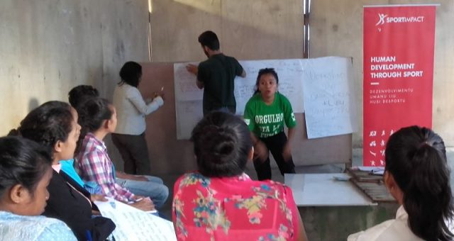 "SportImpact organized a workshop on ""How to Organize Sport Clubs"" in Timor-Leste"
