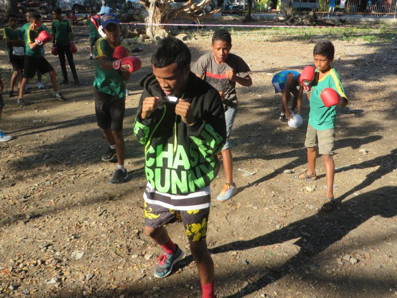 Day 12 - Event - Boxing with the Timor-Leste Boxing Federation