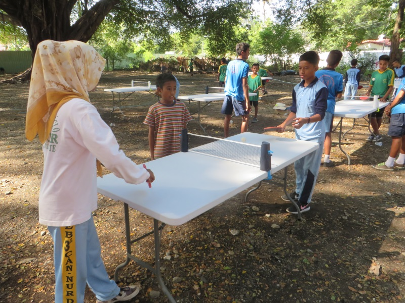 Day 12 - Event - Table Tennis with the Timor-Leste Para-Table Tennis Federation
