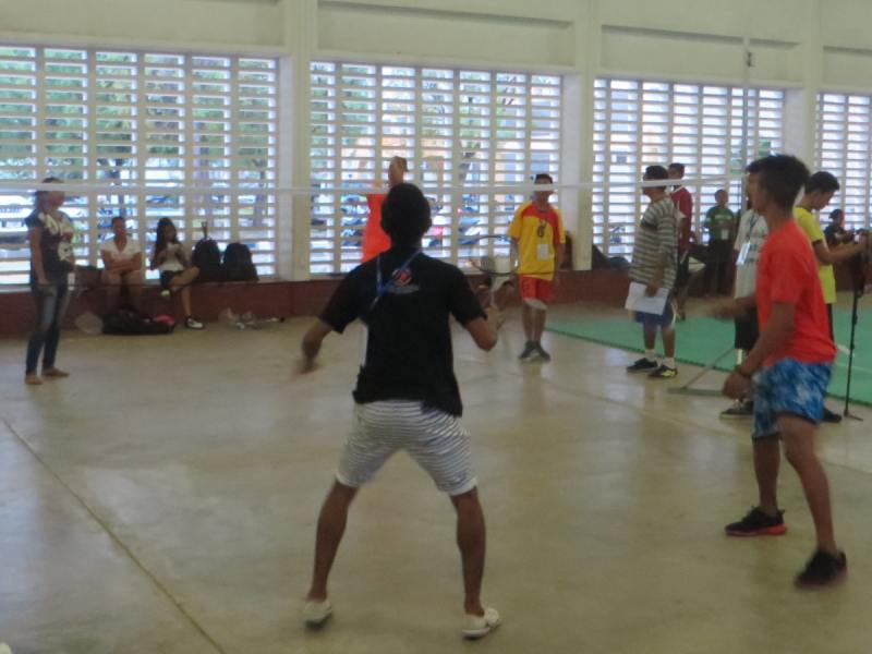 Day 9 - Badminton practice with the Timor-Leste Badminton Federation
