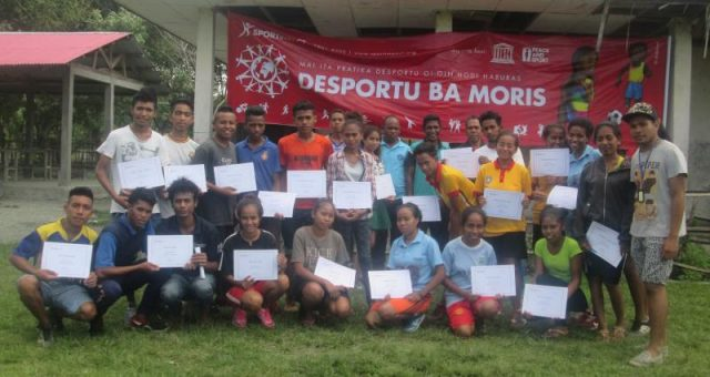 "The Sport for Life ""virus"" is ""infecting"" remote areas of Timor-Leste"