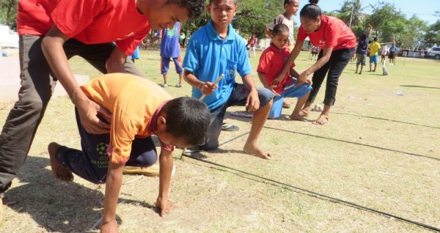 Crowdfunding for human development through sport in Timor-Leste